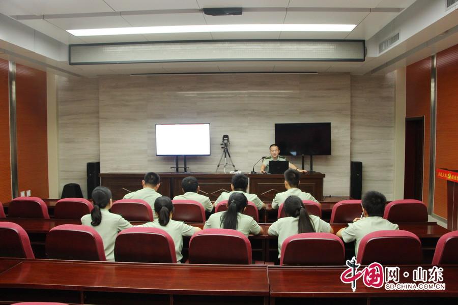 """五莲公安消防大队第一次业务""""微课堂""""正式开讲"""