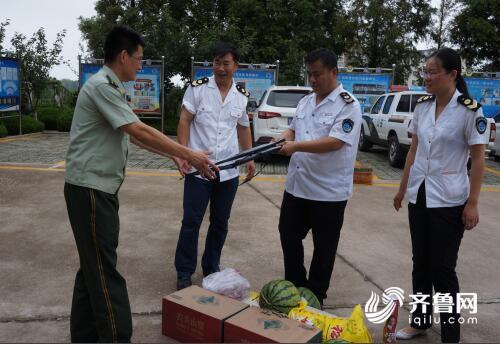 日照卫生计生监督所开展拥军慰问活动 加强与部队沟通