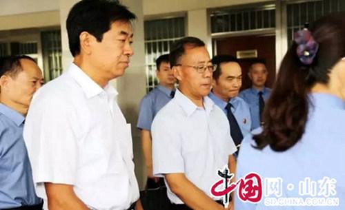 最高人民检察院刑事执行检察厅到汶上县人民检察院指导工作