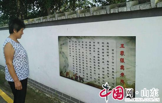 泰安肥城新城街道:打造村居特色文化墙 建设美丽乡村(组图)