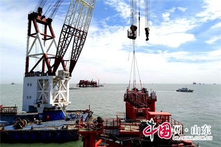 东营胜利油田海洋厂一区平台延寿改造施工安全高效(图)