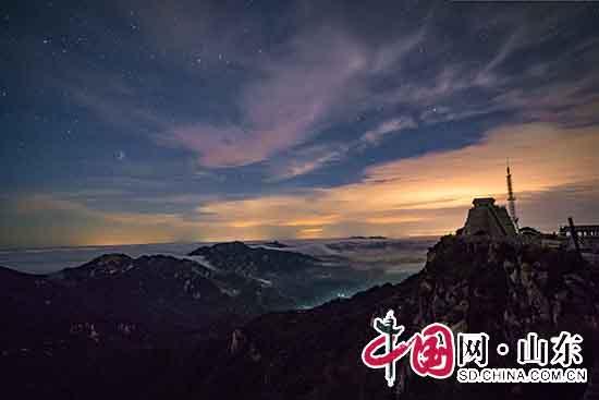临沂蒙山现最美云海奇观(组图)