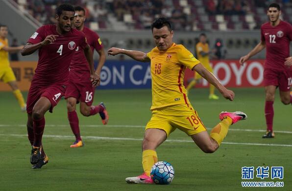 国足2-1胜卡塔尔 为何世界杯出局?(组图)