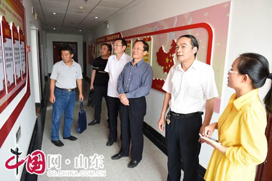 济宁市检察院到汶上县调研指导工作(图)