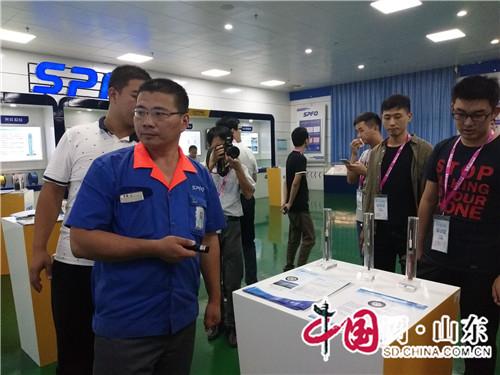 """""""开放的山东""""全媒体采访团走进阳谷电缆(组图)"""