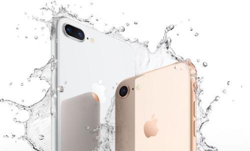 iPhone 8及iPhone 8 Plus。图片来源:苹果官网截图