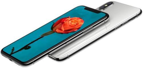 苹果发布全面屏手机iPhone X。图片来源:苹果官网截图