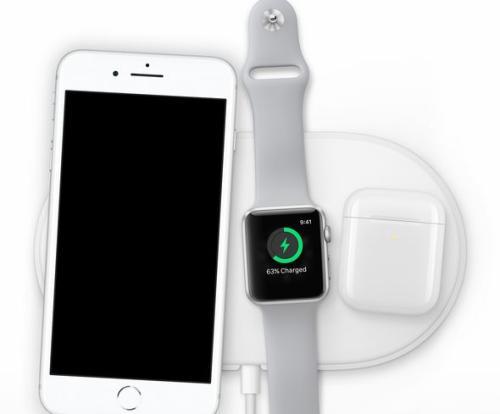 苹果还发布充电枕AirPower。图片来源:苹果官网截图