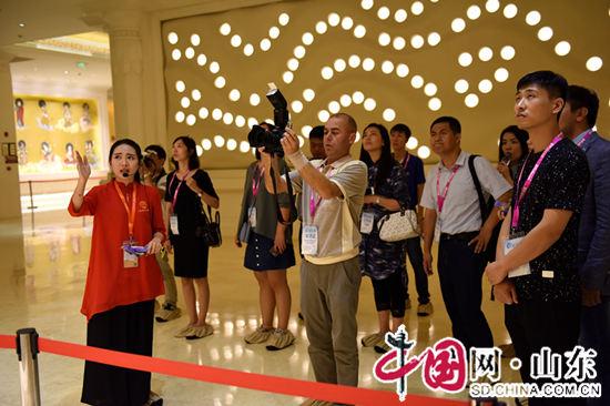 """""""新动能 新发展——'开放的山东'全媒体采访活动""""走进兖州兴隆文化园(组图)"""