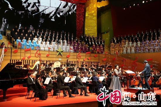 滨州市文化馆:市合唱团成功参演山东顶尖交响乐音乐会