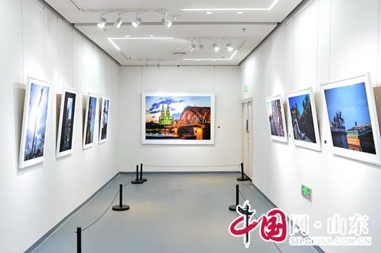 """""""丝路艺语——中德艺术交流展""""开幕(组图)"""