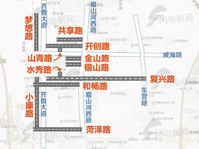 兴长路街道地图