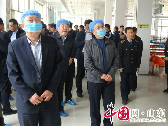 山东省食品安全现场会在滨州开发区一中召开(组图)