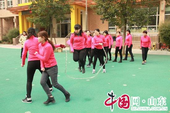 槐荫区实验幼儿园:运动促快乐 实幼展风采
