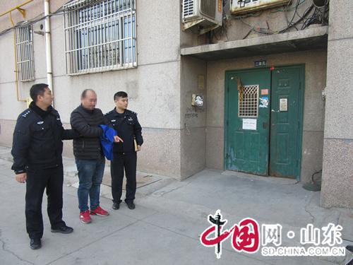 省道路口上演合围抓捕 淄博市博山警方勇擒盗窃犯