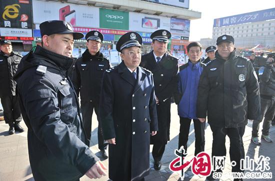 滨州市公安局110宣传日 守护新时代美好生活
