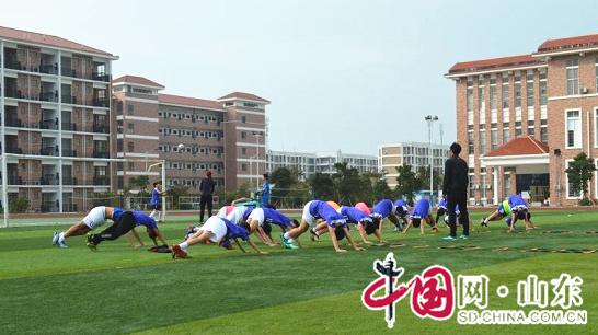 滨州经济技术开发区第一中学足球队赴广西北海冬训