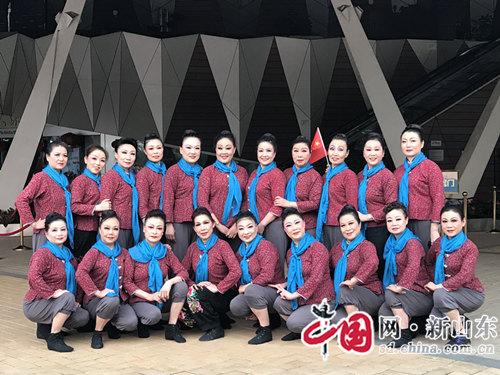 淄博市文化馆中老年民族舞团再获佳绩