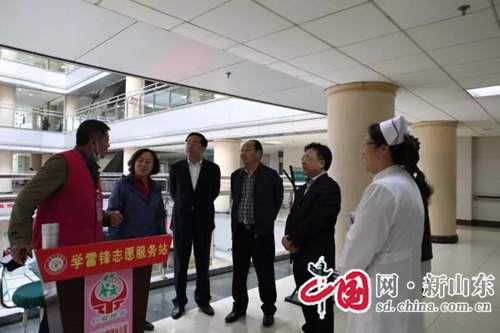 国家复核评价组对淄博市城市公立医院综合改革效果进行考核