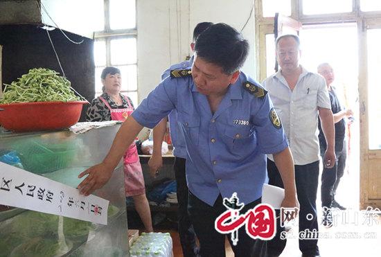 淄川经济开发区整顿餐饮行业让百姓吃上放心饭