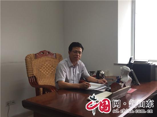 滨州滨城区农业局局长尹洪吉:实施农业新旧动能转换 助推乡村振兴战略