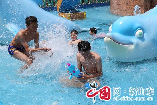 童年同样 烟台福利院儿童游玩37度梦幻海