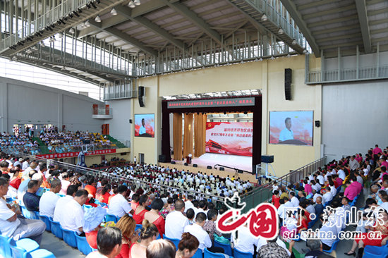 """淄川经济开发区庆祝建党97周年大会暨""""身边最美的人""""颁奖典礼举行"""