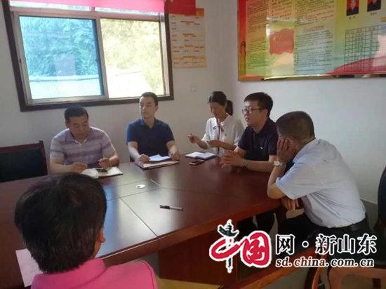 """淄川区委组织部对市法制办""""第一书记""""二季度工作进行考评"""